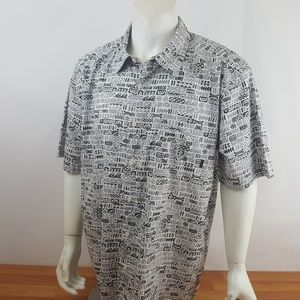 QUICKSILVER  Mens X-Large Hawaiian Style Shirt